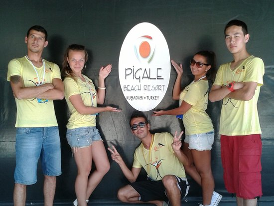 Pigale Family Club: Animation team 2014