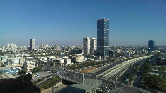 Crowne Plaza Tel Aviv City Center: View out of room 1817