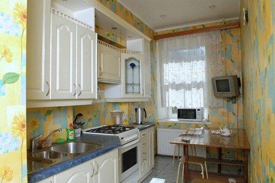 Arina Apartments Elektrosila: Арина апартаменты кухня