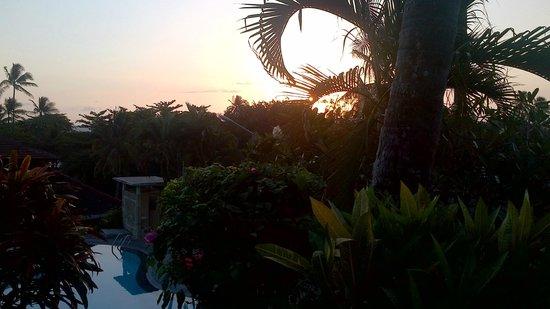 Bukit Senggigi Hotel : Sunset