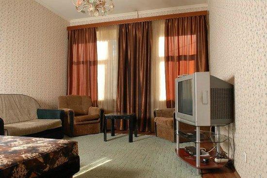 Arina Apartments Elektrosila: Арина апартаменты гостинная