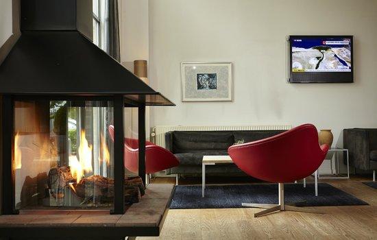 Radisson Blu Papirfabrikken Hotel, Silkeborg : Lounge og afslapnings område.