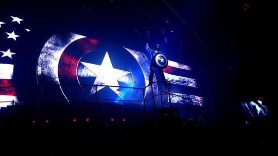 Coco Bongo Playa del Carmen : Captain America show