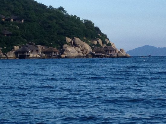 Six Senses Ninh Van Bay : View of Water Villa 4 and 5