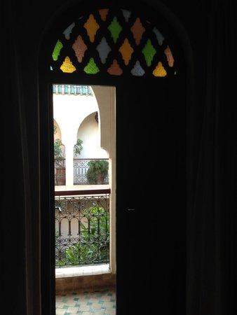 Riad Massiba: Vista da camera Mauve