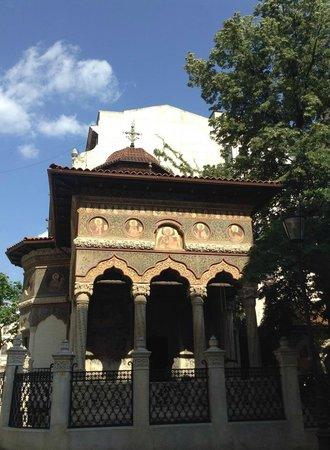 Stavropoleos-Kirche (Biserica Stavrapoleos): церковь