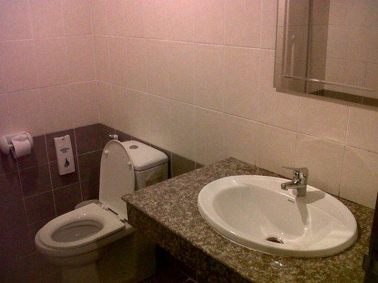Harvest House : clean toilet