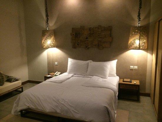 Mathis Retreat: Notre lit décoration de goût