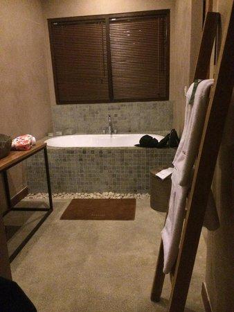 Mathis Retreat: Salle de bains, douche également à disposition