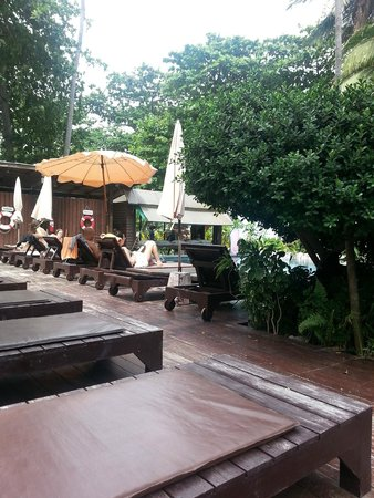 Chaweng Garden Beach Resort: Poolside