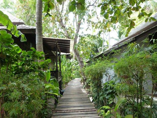 Chaweng Garden Beach Resort: Vila Jardin tropical