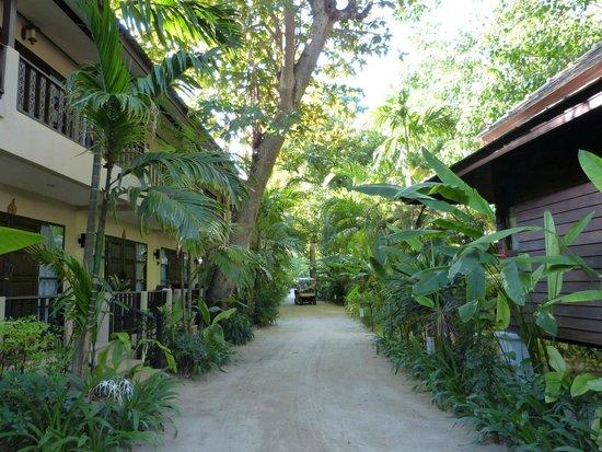 Chaweng Garden Beach Resort: Bungalows sur deux étages