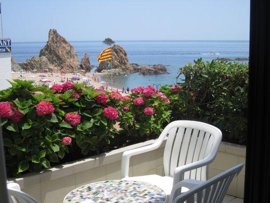 Premier Gran Hotel Reymar & Spa : Vue de la terrasse de notre chambre