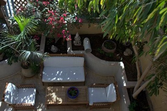 Blue Hotel : garden lobby floor