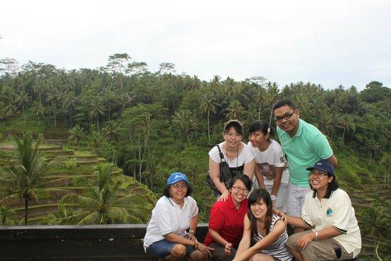 Tegalalang Rice Terrace: Sawah terasering di Tegalalang