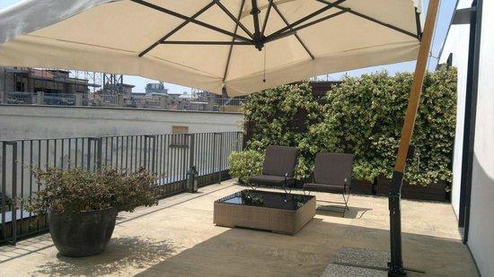Bulgari Hotel Milano: балкон