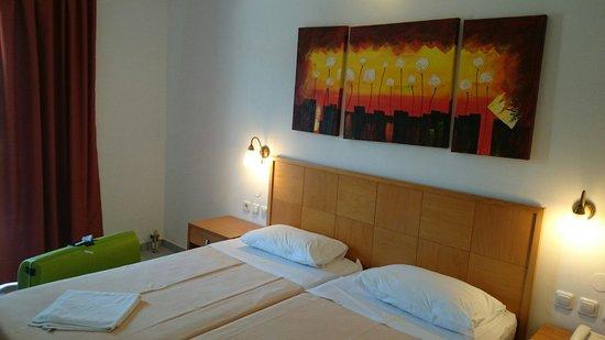 Bella Vista Hotel: Nette kamer aan de tuinzijde