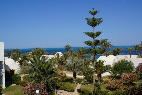 El Mouradi Djerba Menzel: Vue sur la Mer depuis notre chambre