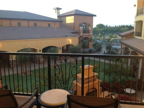 The Meritage Resort and Spa: View from balcony