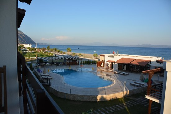 Hotel Silvanus: View from the balcony of the room