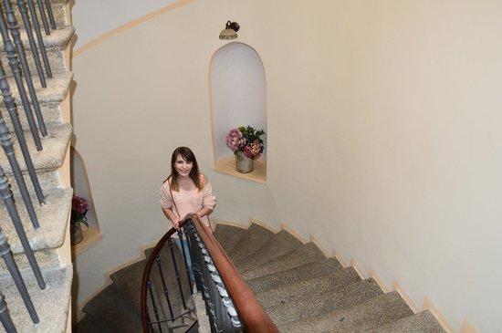 Hotel Dar: Красивая лестница