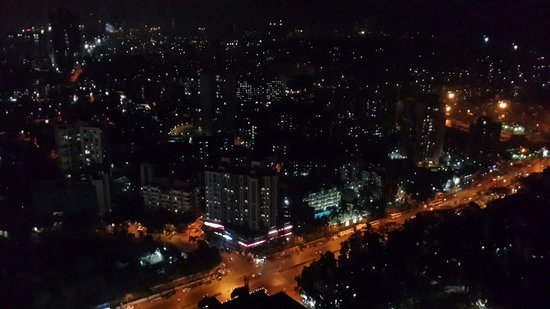 The Westin Mumbai Garden City: View from the room at 1am !!