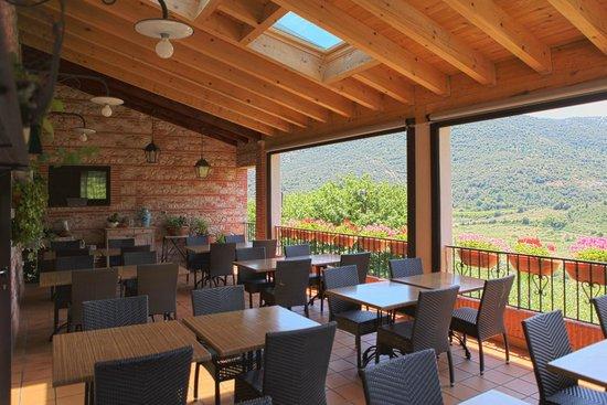 Auberge du Vigneron : terrasse