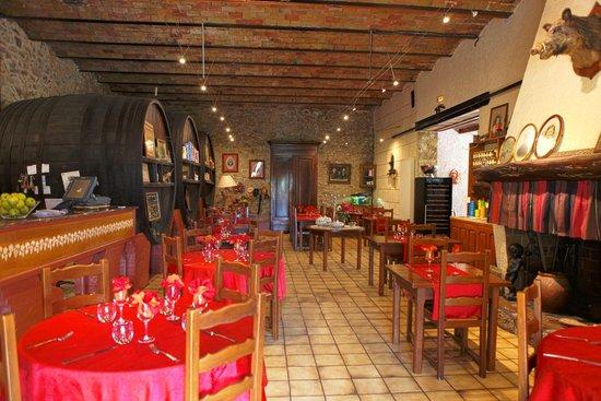 Auberge du Vigneron : salle de restaurant