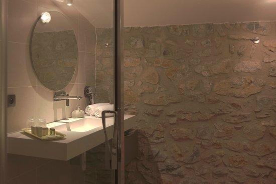 Auberge du Vigneron : salle de bain