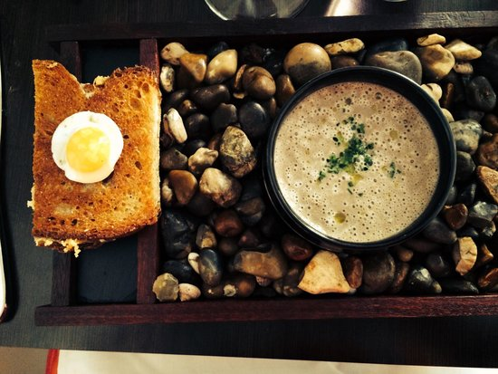 Paul Ainsworth at No. 6: Mushroom soup - delicious!