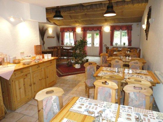 Obere Schweizerhütte: Frühstückszimmer & Veranstaltungsraum
