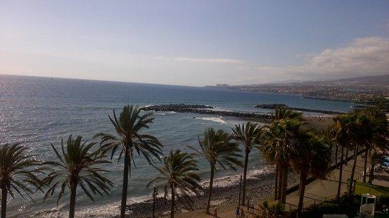 Sol Tenerife: Zonsondergang vanop terras.
