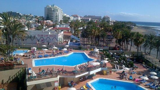 Sol Tenerife: Zicht vanop terras.