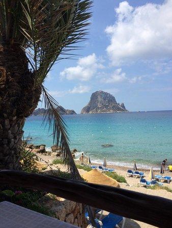Restaurant El Carmen: Ausblick von der Aussenterrasse  im El Carmen.