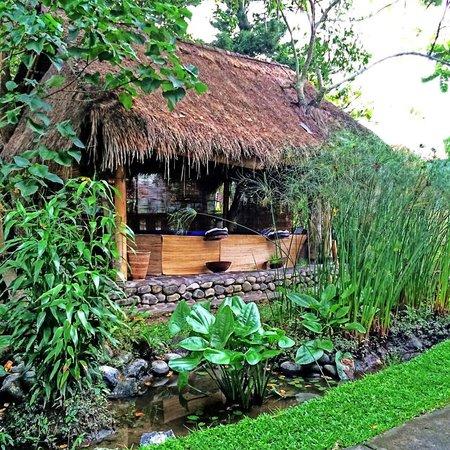 Tegal Sari: Outdoor Spa
