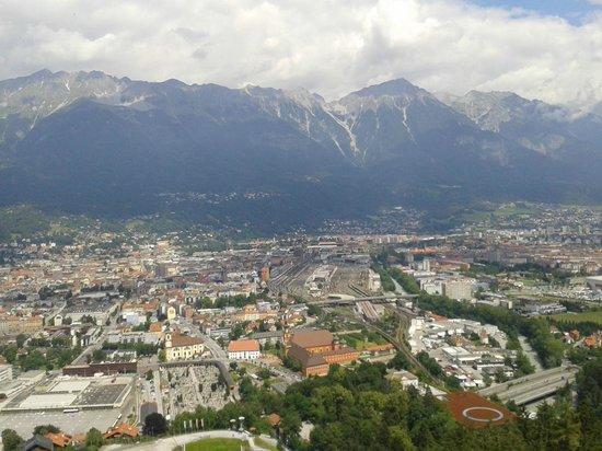 Bergisel Sprungschanze: Blick von oben
