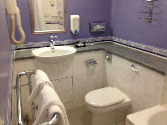 Westland Hotel: bagno
