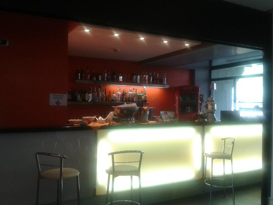 Quality Hotel Rouge et Noir Roma: Bar (hall)
