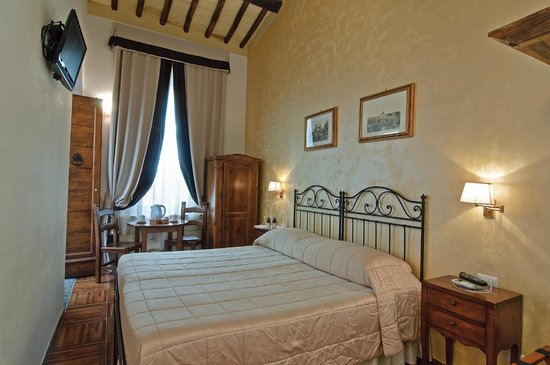 Relais Le Clarisse in Trastevere: Superior Double Room Garden View
