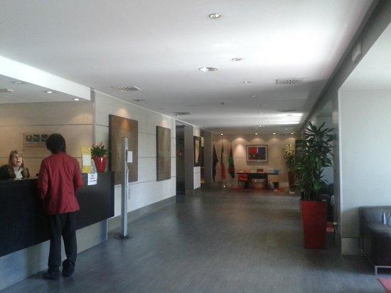 Quality Hotel Rouge et Noir Roma: Hall