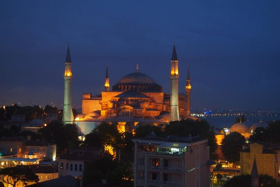 Dosso Dossi Hotel Old City: Istanbul by night