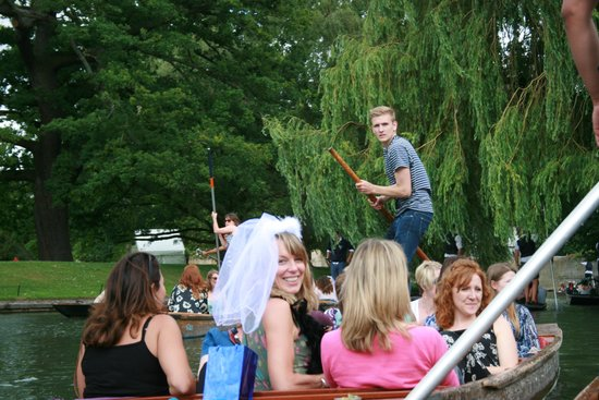 Lets Go Punting: hen party june 2014