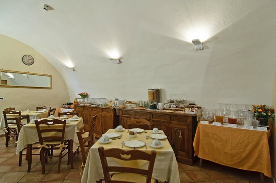 Relais Le Clarisse in Trastevere : Breakfast Room