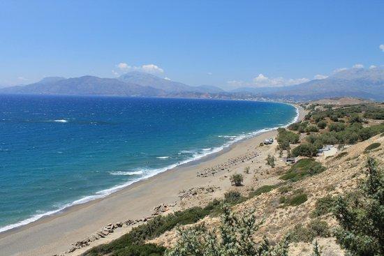 Kommos Beach : spiaggia