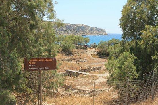 Kommos Beach : sito archeologico