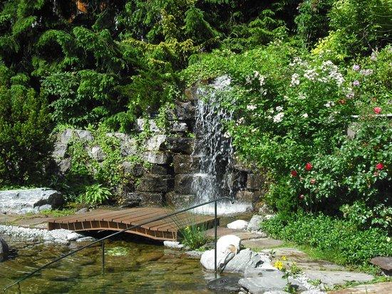 Hotel Salzburgerhof: Waterfall