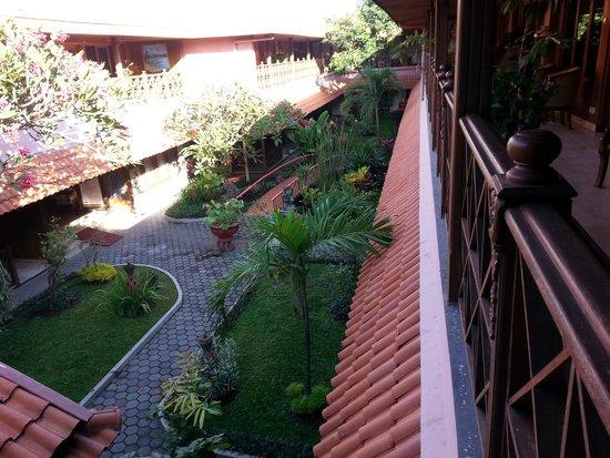 Puri Artha Hotel : View from balcony