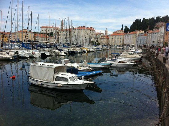 Grand Hotel Bernardin : le petit port de Piran
