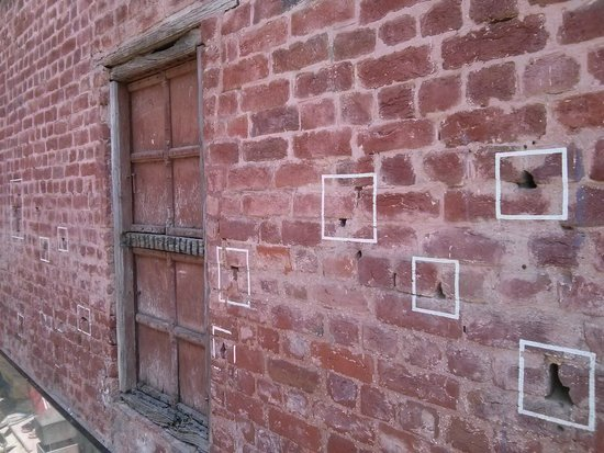 Jallianwala Bagh: Bullet Marks on Wall