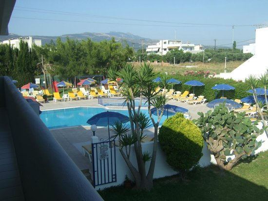 Nicon: Pool Area from the room